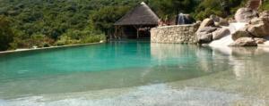 piscine sur mesure plan d'aménagement extérieur