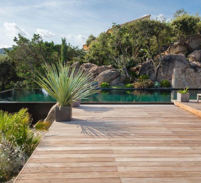 aménagement extérieur piscine et paysager