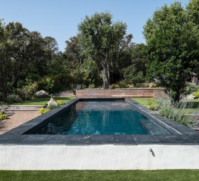 plan d'aménagements piscine