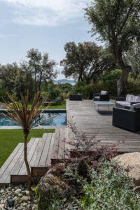 aménagement jardins avec piscine et paysagiste