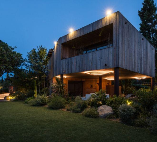 plan d'aménagement villas