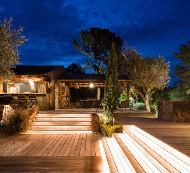 plan d'aménagement terrasse en bois