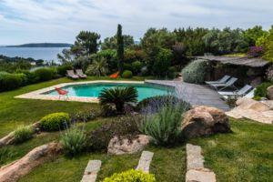 plan d'aménagement extérieur jardin et piscine