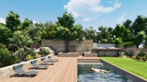 creation et design de piscines sur mesure images 3D