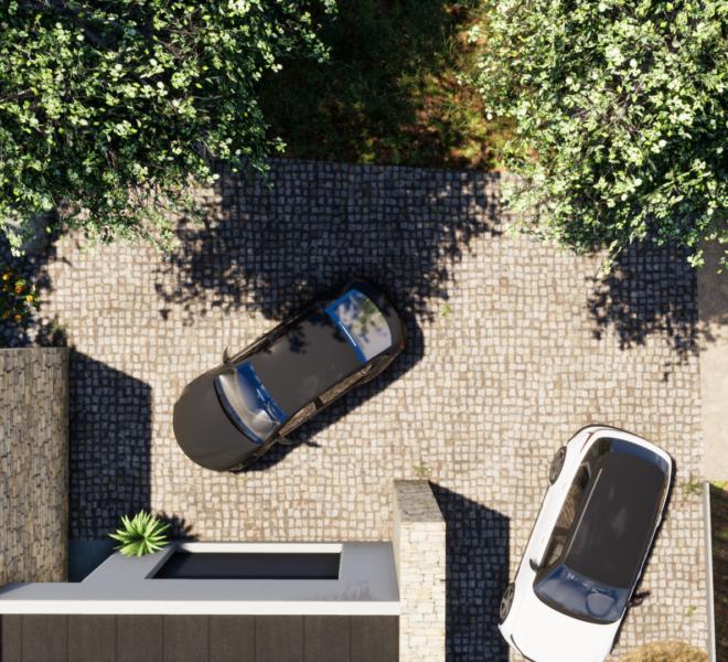 aménagement parking et garage images 3D dessine moi