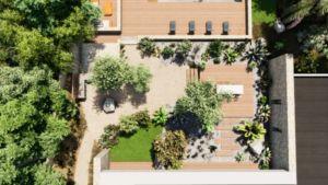 plan 3D d'aménagement extérieurs