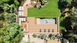 plan d'aménagement et création de piscines et jardins