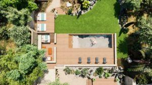 plans d'aménagements avec piscines image 3D