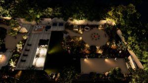 plan d'aménagement jardins et piscines