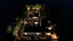 image 3D plan d'aménagement villas et jardin