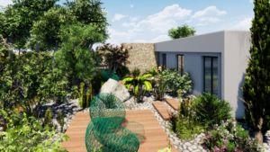 plan d'aménagements jardins et paysagers